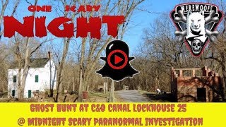 Ghost Hunt at Lockhouse 25 Scary Paranormal Investigation - Part 4