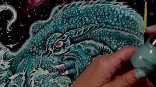 Coloring in Mythomorphia Pt 3