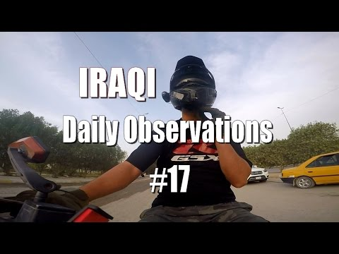 IRAQI Daily Observations #17 babies on the road !