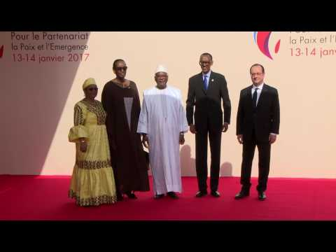 President Kagame and First Lady attend the opening ceremony of the 27th Africa-France summit in Mali