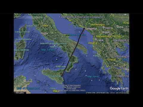 Comunicazioni radio del volo Catania/Dubrovnik del 29 agosto 2016