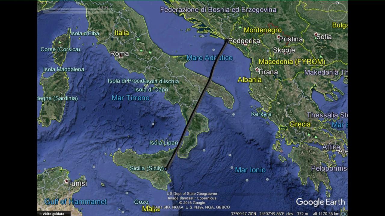 Comunicazioni radio del volo Catania/Dubrovnik del 29 ...