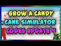 Grow A Candy Cane Simulator Codes (Roblox) (Update 4) (Code for Twitter Pet)