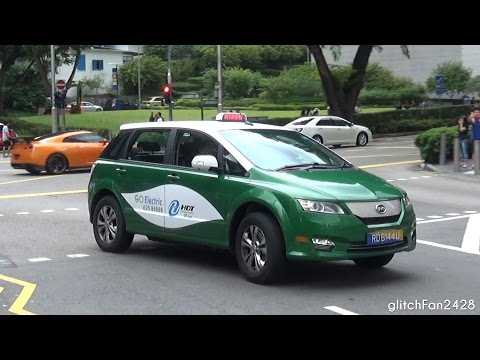 [HDT Taxis] Brand New 2016 BYD e6 Electric Taxi Spotted in Singapore