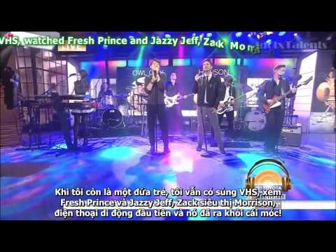 [Vietsub] Owl City - Unbelievable (feat Hanson) - Today Show (LIVE)