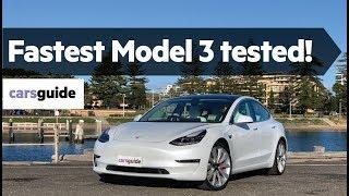 Tesla Model 3 2020 review: Performance