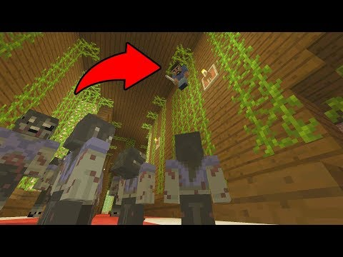 REAL ZOMBIES TAKE OVER MINECRAFT! (Murder Mystery)