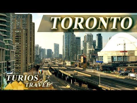 Торонто, Канада, TimeLapse Full HD 1080p видео