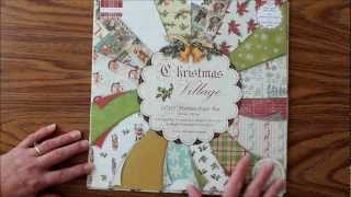 First Edition Christmas Village Premium Paper Pad