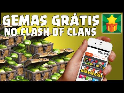 Clash Of Clans - Como Ganhar Gemas Grátis Com O AppNana