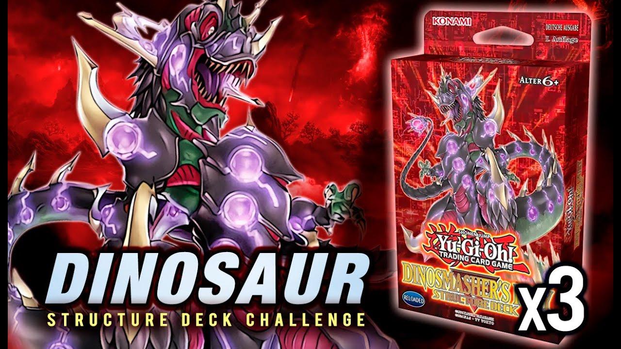 x3 Dinosmasher/'s Fury Structure Deck