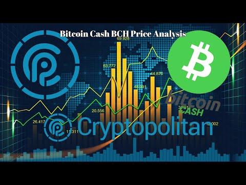 Bitcoin Cash BCH Price Analysis