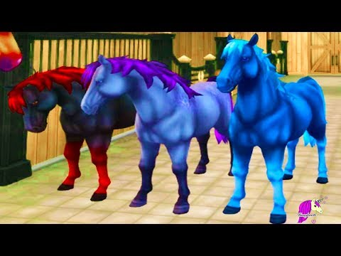 Color Changing Magic Horses ! Buying Jorvik Wild Horse Star Stable Online Video