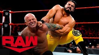 Andrade vs. Eric Young: Raw, Dec. 2, 2019