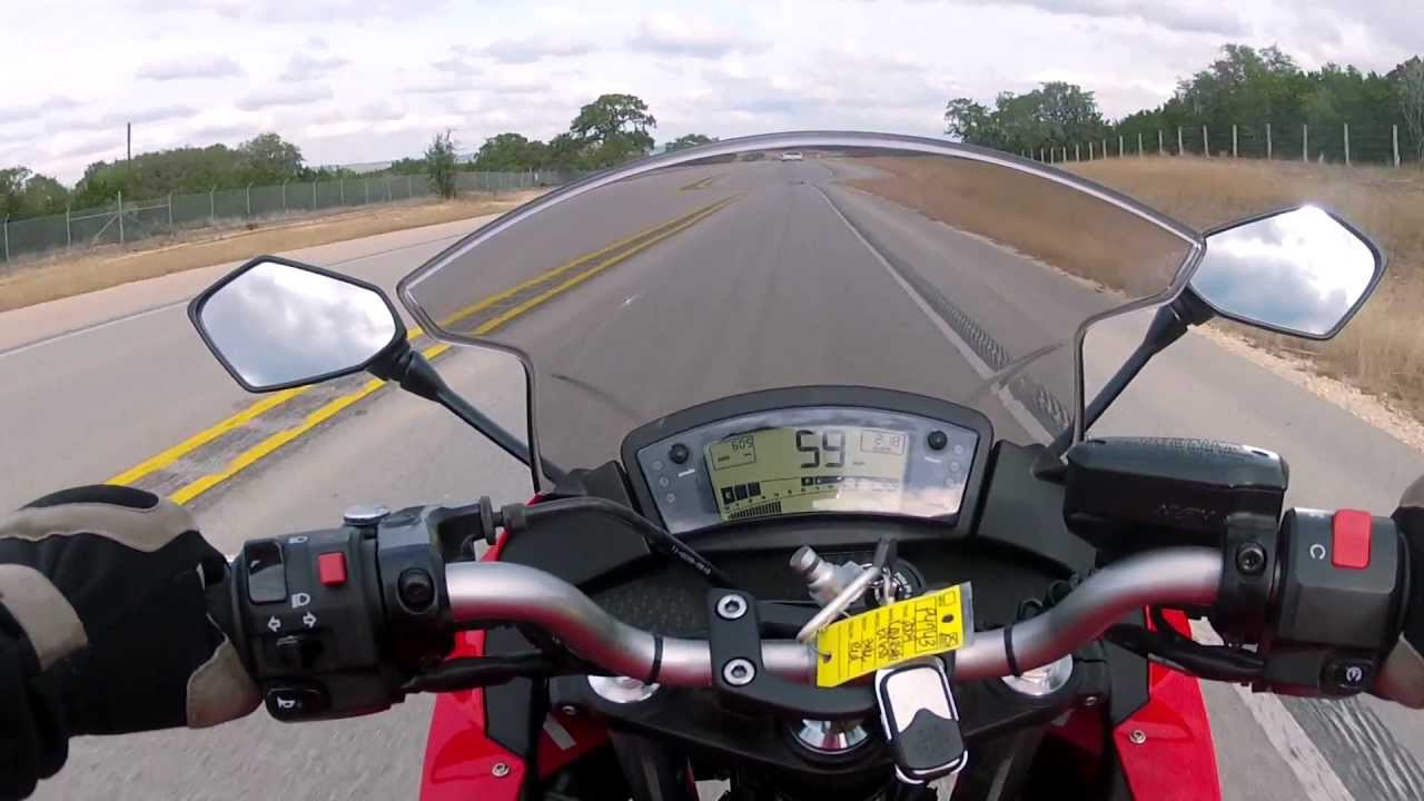 First Gear - 2009 Kawasaki Ninja 650R - YouTube