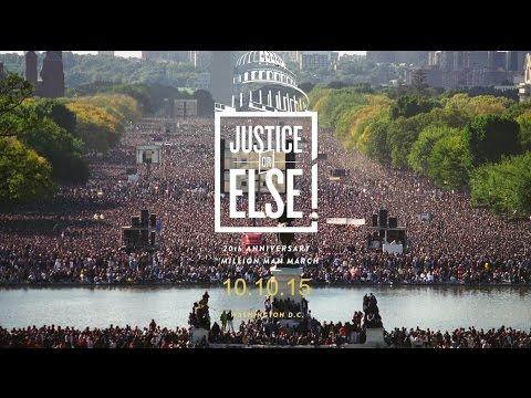 Justice Or Else - 10.10.15 - Washington, D.C.