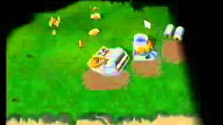 Command & Conquer Gold Nintendo 64 Game play level