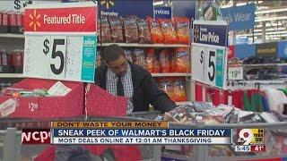 Sneak peek of Wal-Mart's Black Friday