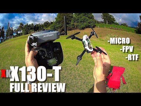XK X130T Micro FPV RTF Drone - Full Review - [Unboxing, Inspection, Flight/Crash Test, Pros & Cons]