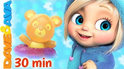 🍭 Johny Johny Yes Papa and More Baby Songs by Dave and Ava 🍭