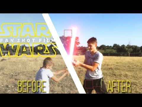 Star Wars: Fan Film Breakdown VFX   Звездные воины: Фанатский Фильм до и после визуальных эффектов