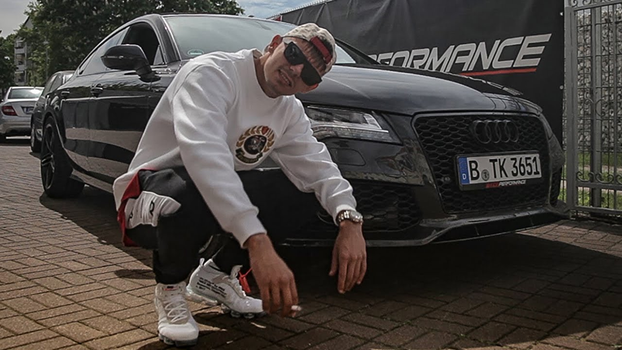 2018 Audi A7 >> Capital Bra holt sein Gucci-Mobil ab! A7 GUCCI EDITION - Das Making-Of - YouTube