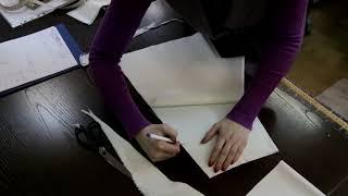 Как сшить детское платье из фатина (2 урок)