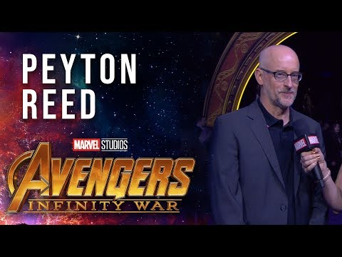 Peyton Reed Live at the Avengers: Infinity War Premiere
