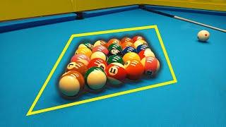 HUGE RHOMB 8-Ball Pool Rack