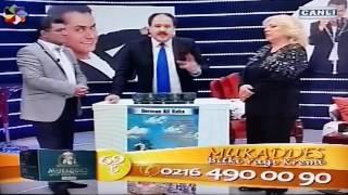 ERDEM GENÇTÜRK ve Huri Sapan-Hasan Yılmaz(Derman Ali Baba)Mukaddes krem tanıtımıTele-Alışveriş-satış