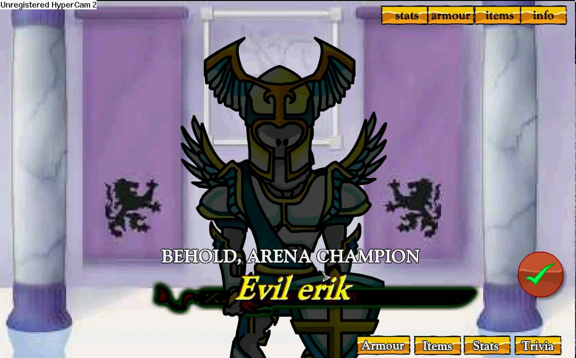 Sword and sandals 2 evil boss and final boss 1 hit k0 youtube