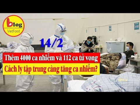 Cập nhật VIRUS CORONA 14/2: Thêm 4000 ca nhiễm mới tại Hồ Bắc