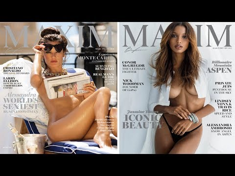 Alessandra Ambrosio Poses Completely Nude on the Cover of Maxim from YouTube · Duration:  1 minutes 13 seconds