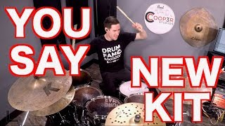 You Say - Drum Cover - Lauren Daigle - NEW KIT! - Pearl Session Studio Select!