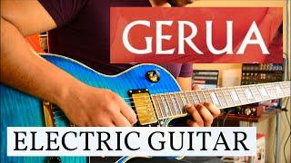 Gerua - Electric Guitar Cover   Archan Dutta   Dilwale   SRK   Kajol