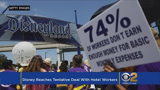 Disney Reaches Tentative Deal With Hotel Workers On Wage Hike
