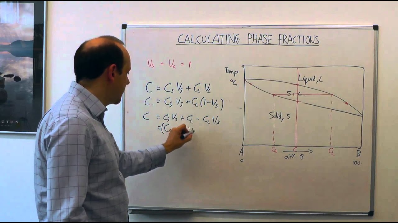 23 mse104 calculating phase fractions lever rule youtube pooptronica