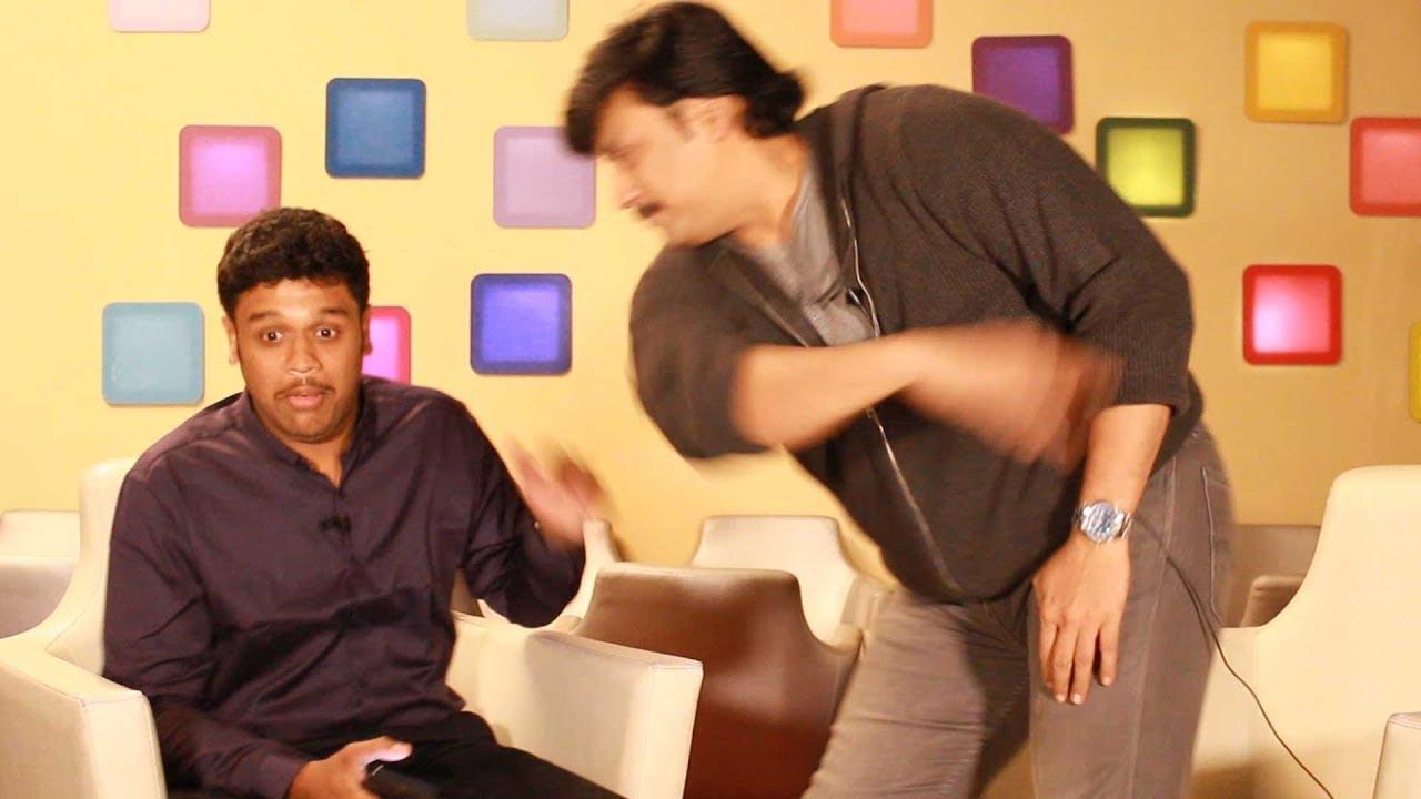Download Oops: Actor Prashanth SLAPS VJ Nikki