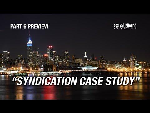 Syndication Basics Training Part 6- Syndication Case Study