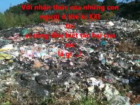 Rác thải sinh hoạt ở nông thôn