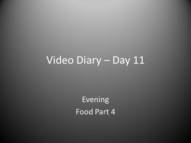 Day 11 Evening : Food part 4