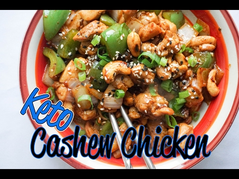 Easy Cashew Chicken Recipe Video   Keto Asian Takeout!   Low Carb Chicken Recipes