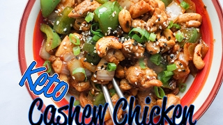 Easy Cashew Chicken Recipe Video | Keto Asian Takeout! | Low Carb Chicken Recipes