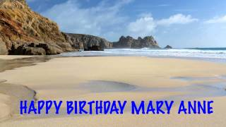 MaryAnne   Beaches Playas - Happy Birthday