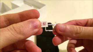 iPhone SE Insert SIM Card How to Open Tray and Put in SIM Card