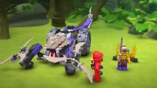 Kijk Lego Ninjago 70745 Anacondrai Crusher filmpje