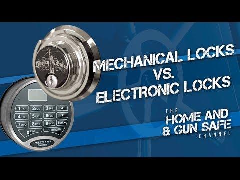 Mechanical Locks vs. E-Locks