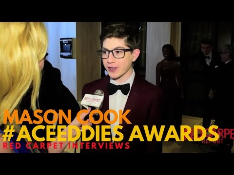 Mason Cook Speechless ed at the 67th Annual ACE Eddie Awards ACEEddies