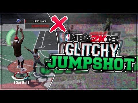 NEW JUMPSHOT CANNOT BE CONTESTED - 100% GREEN GLITCHY JUMPSHOT NBA 2K18