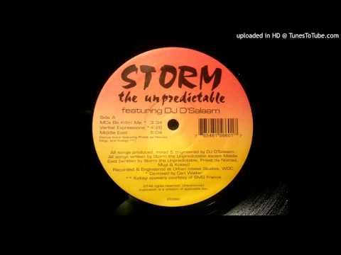 Storm The Unpredictable - Verbal Expressions ft. DJ D'Salaam